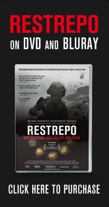 Purchase RESTREPO on DVD or BLURAY